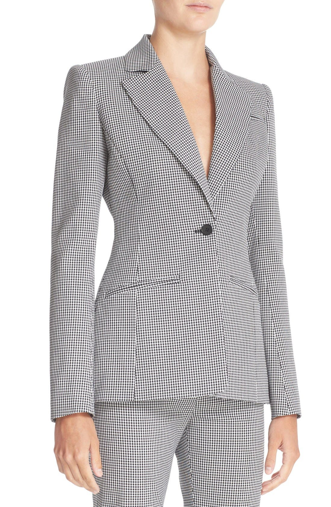 Alternate Image 5  - Altuzarra Acacia Mini Gingham Jacket