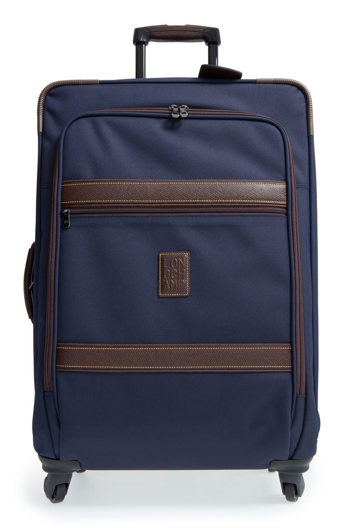 Longchamp 'Boxford' Boarding Suitcase (26 Inch)