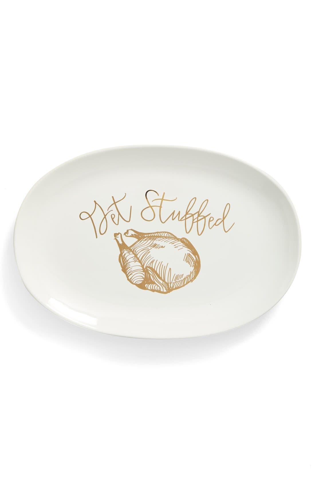 Main Image - Gibson 'Get Stuffed' Stoneware Serving Platter