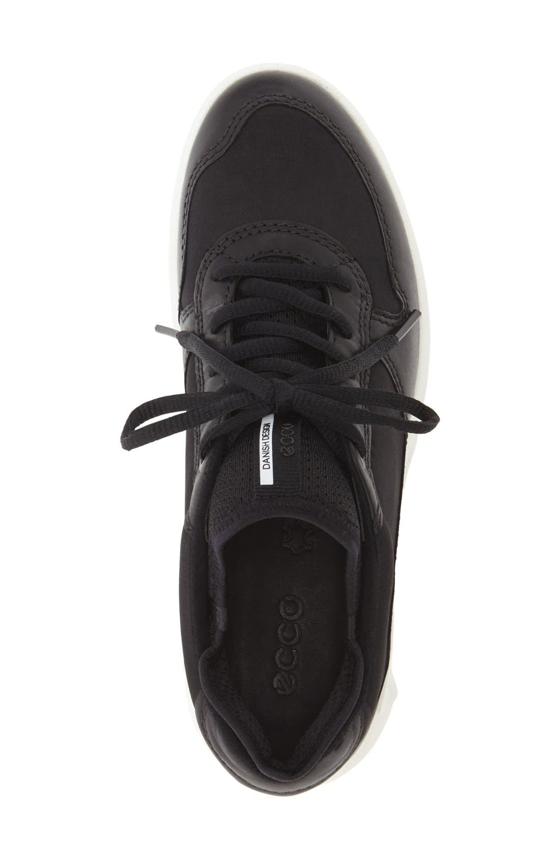 'CS16' Sneaker,                             Alternate thumbnail 3, color,                             Black Leather