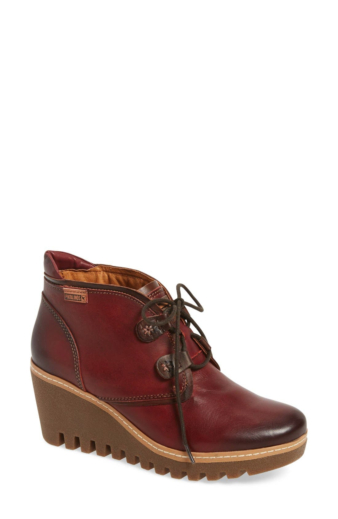 PIKOLINOS 'Maple' Wedge Bootie (Women)