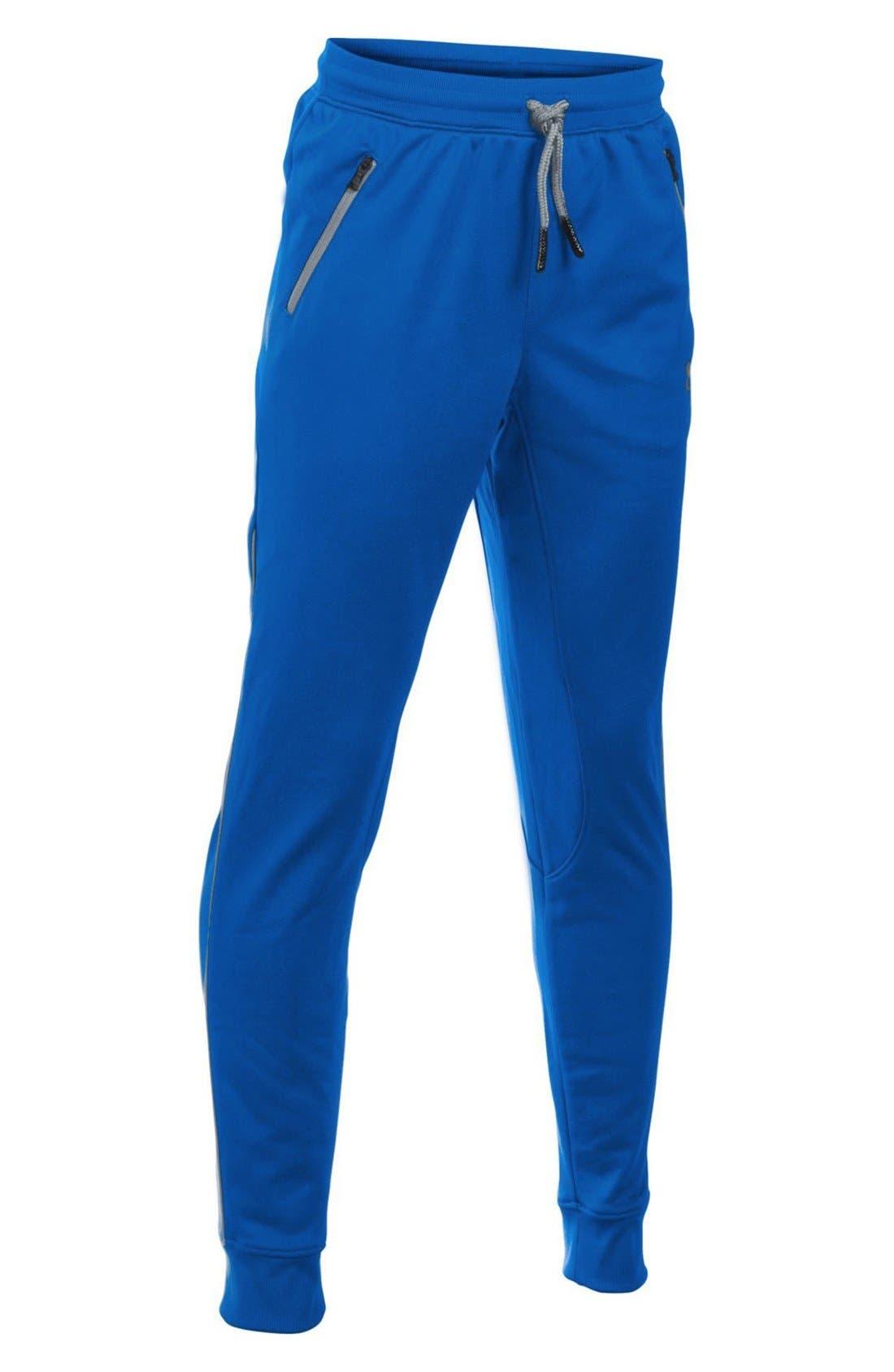 'Pennant' Tapered Pants,                             Main thumbnail 1, color,                             Ultra Blue/ Black