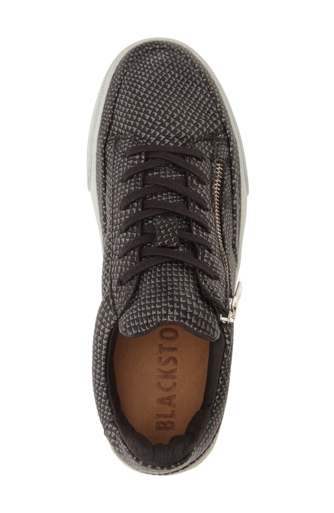 'KL51' Sneaker,                             Alternate thumbnail 3, color,                             Black Metallic Printed Leather