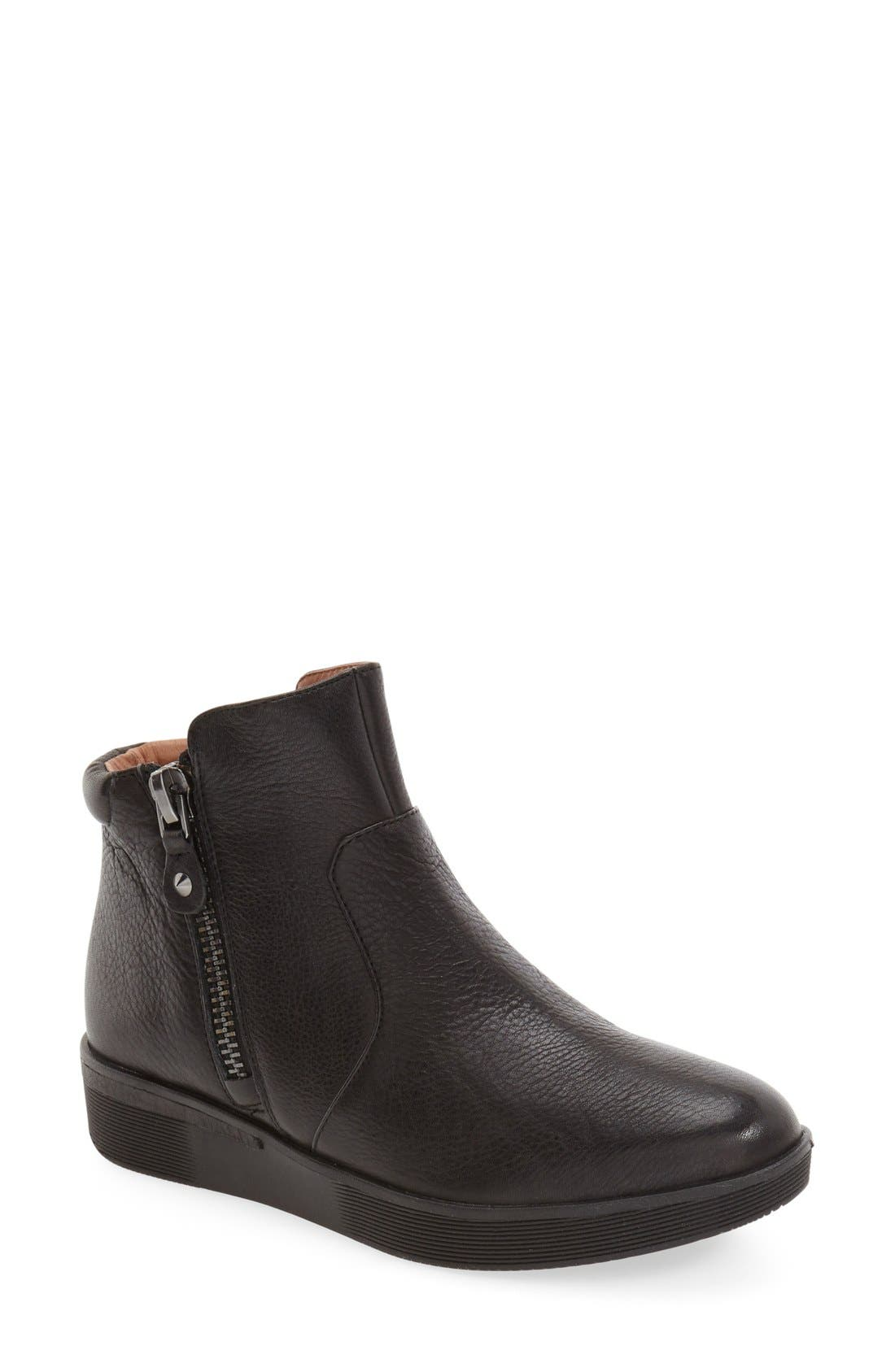 by Kenneth Cole 'Harper' Sneaker Bootie,                         Main,                         color, Black Leather