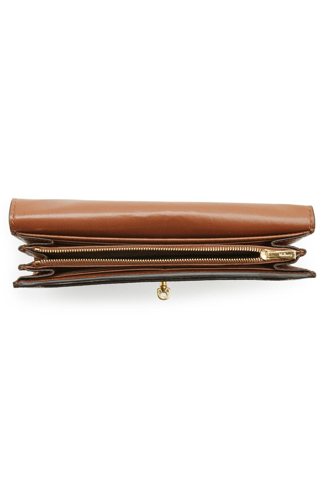 Alternate Image 4  - Mulberry 'Postman's Lock' Leather Wallet