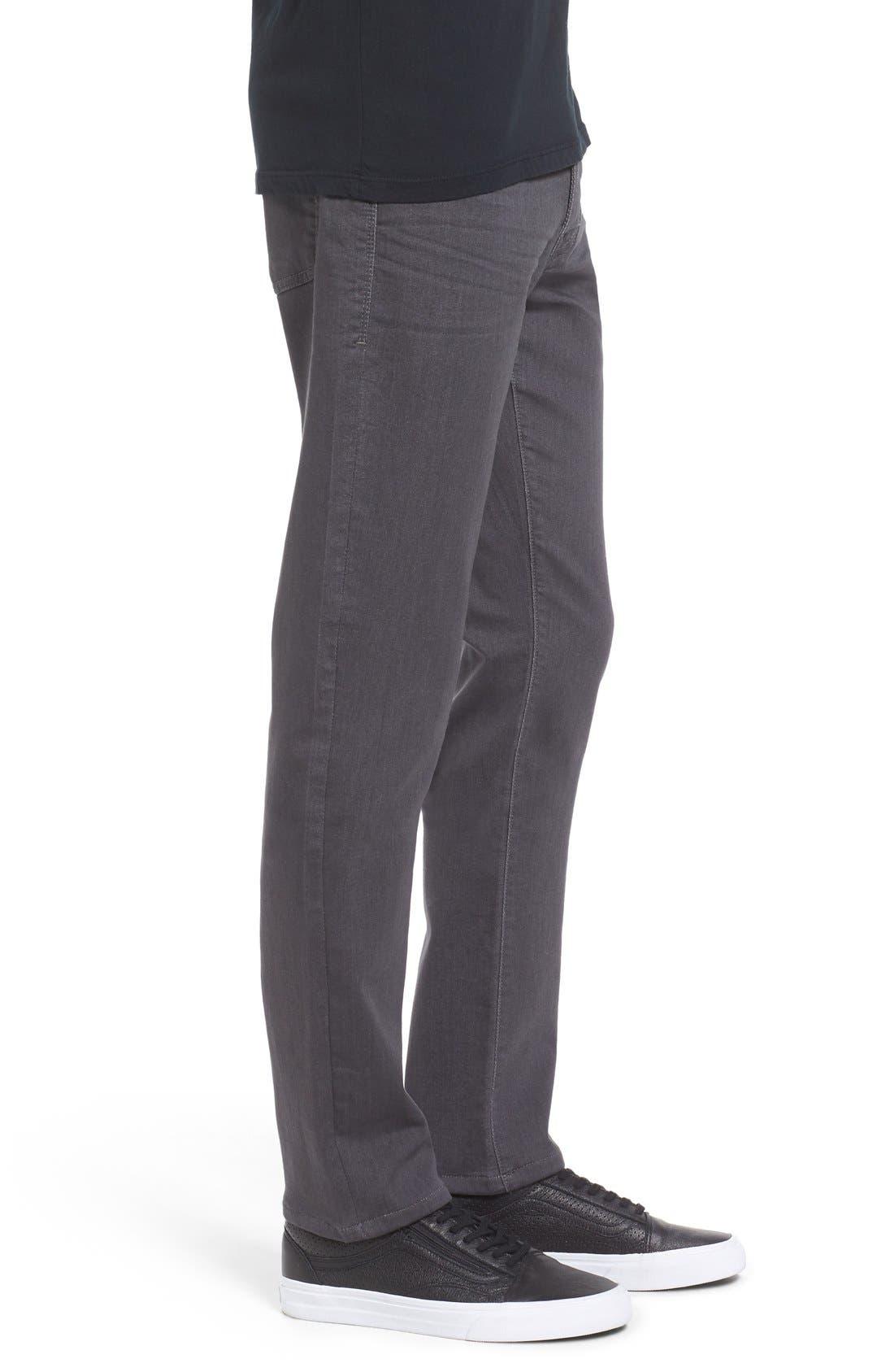 Torino Slim Fit Jeans,                             Alternate thumbnail 3, color,                             Fox Grey