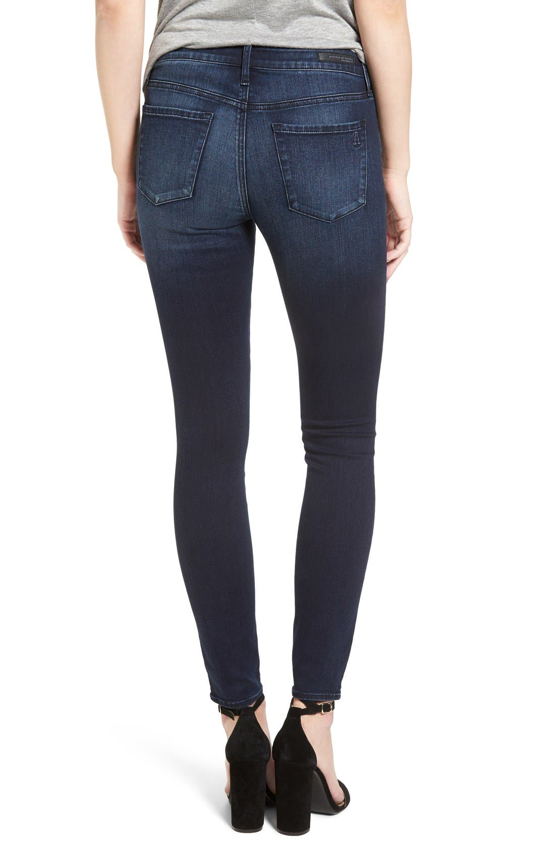 Alternate Image 2  - Articles of Society Sarah Skinny Jeans