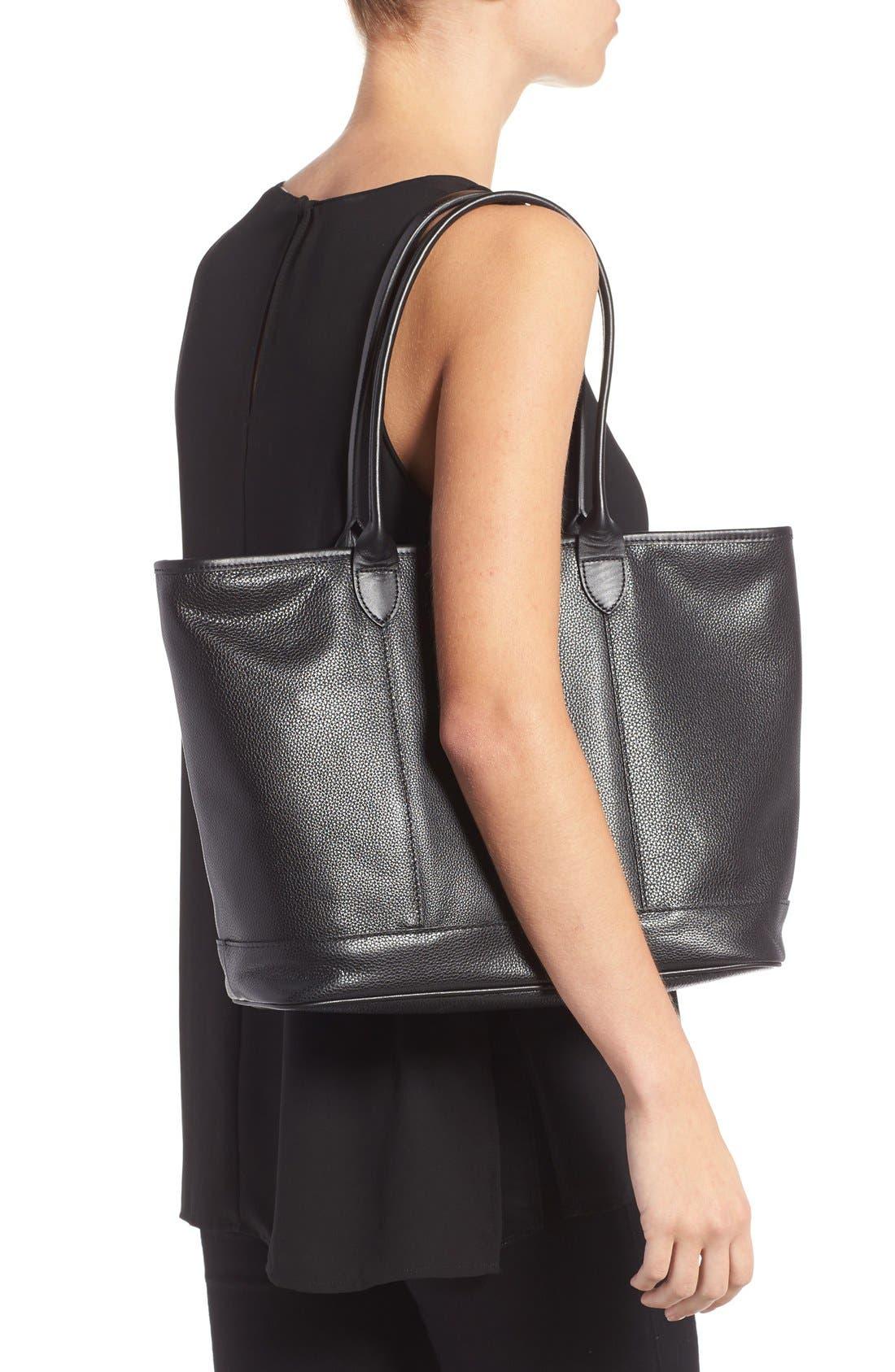 Alternate Image 2  - Longchamp 'Veau' Leather Tote