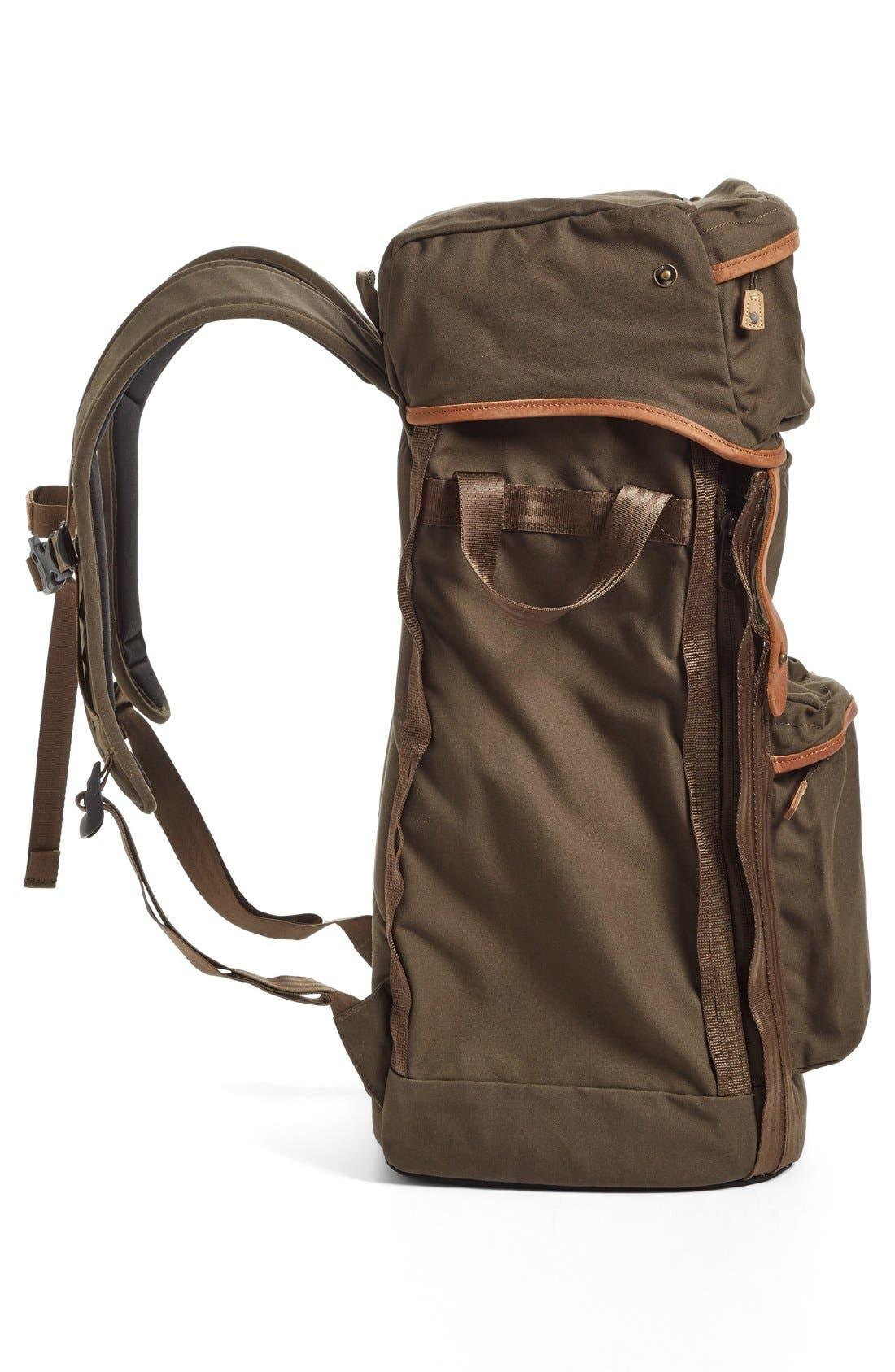 'Stubben' Backpack,                             Alternate thumbnail 5, color,                             Dark Olive