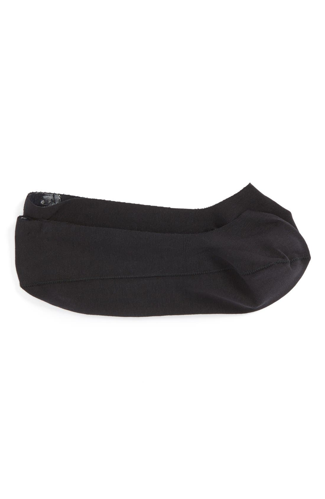 'Ultra Fit' Laser Cut Liner Socks,                         Main,                         color, Black