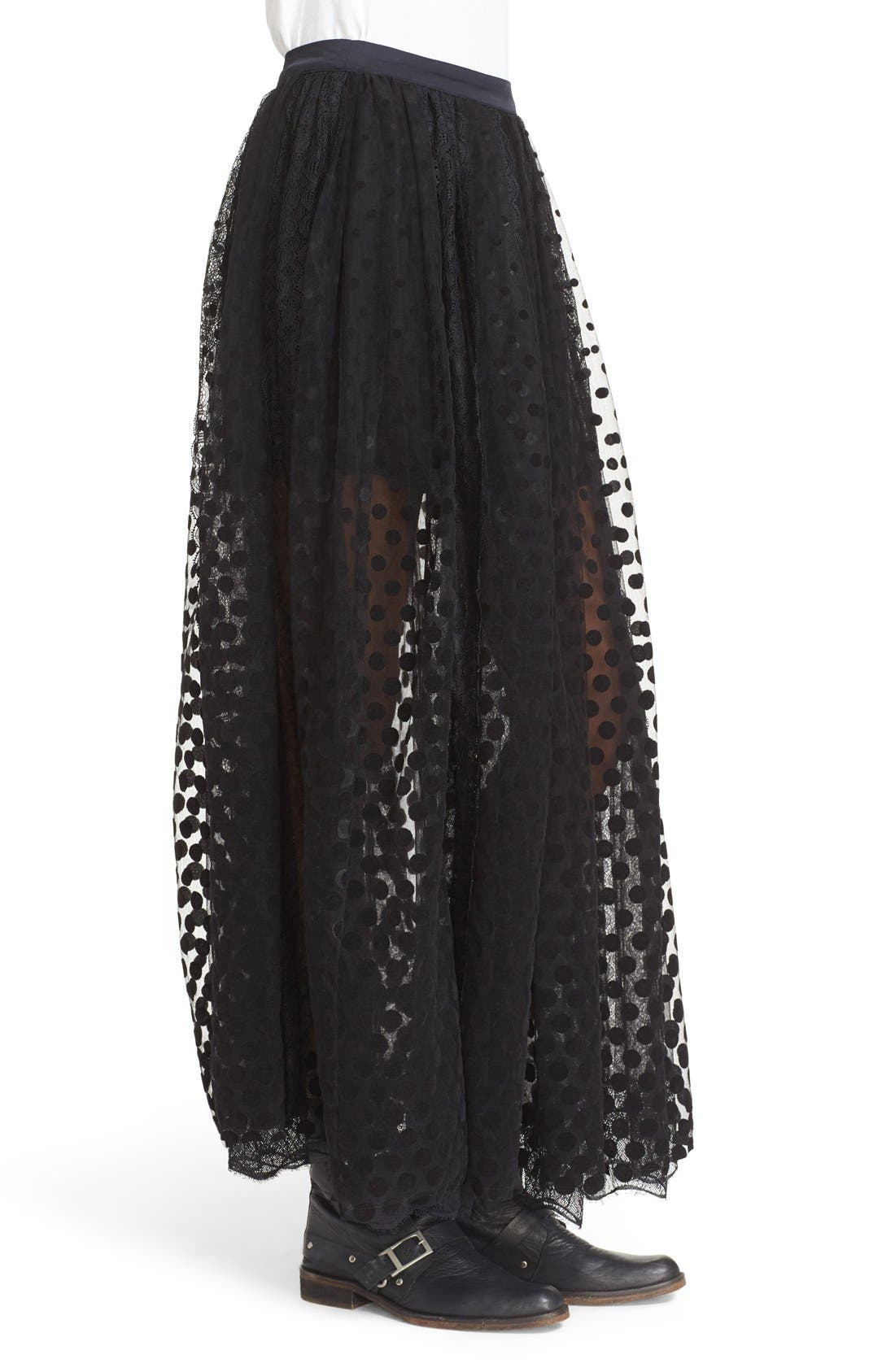 Alternate Image 3  - Free People Dreaming Of You Mesh Tutu Skirt