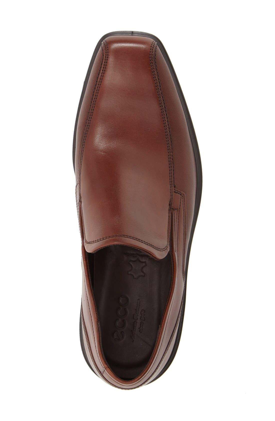 'Johannesburg' Venetian Loafer,                             Alternate thumbnail 3, color,                             Cognac Leather