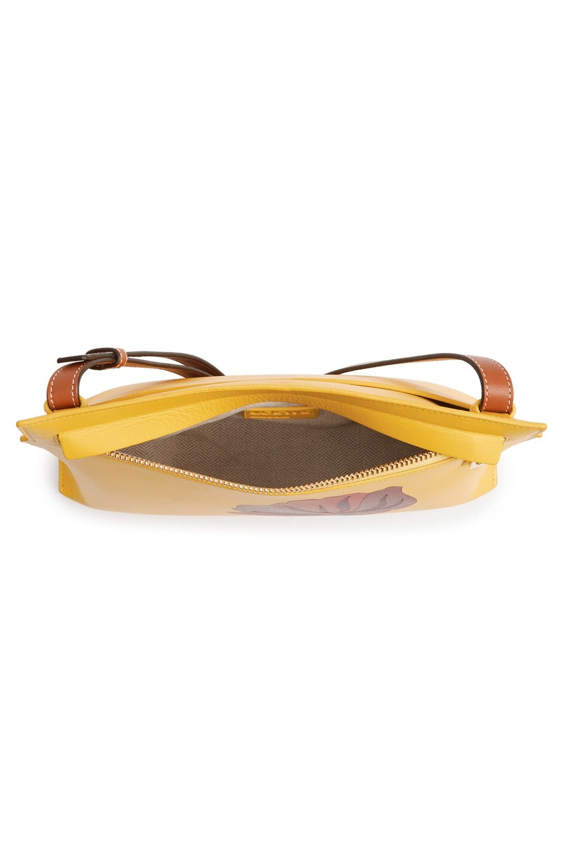 Alternate Image 4  - Loewe 'Fiore' Marquetry Calfskin Leather Crossbody Clutch