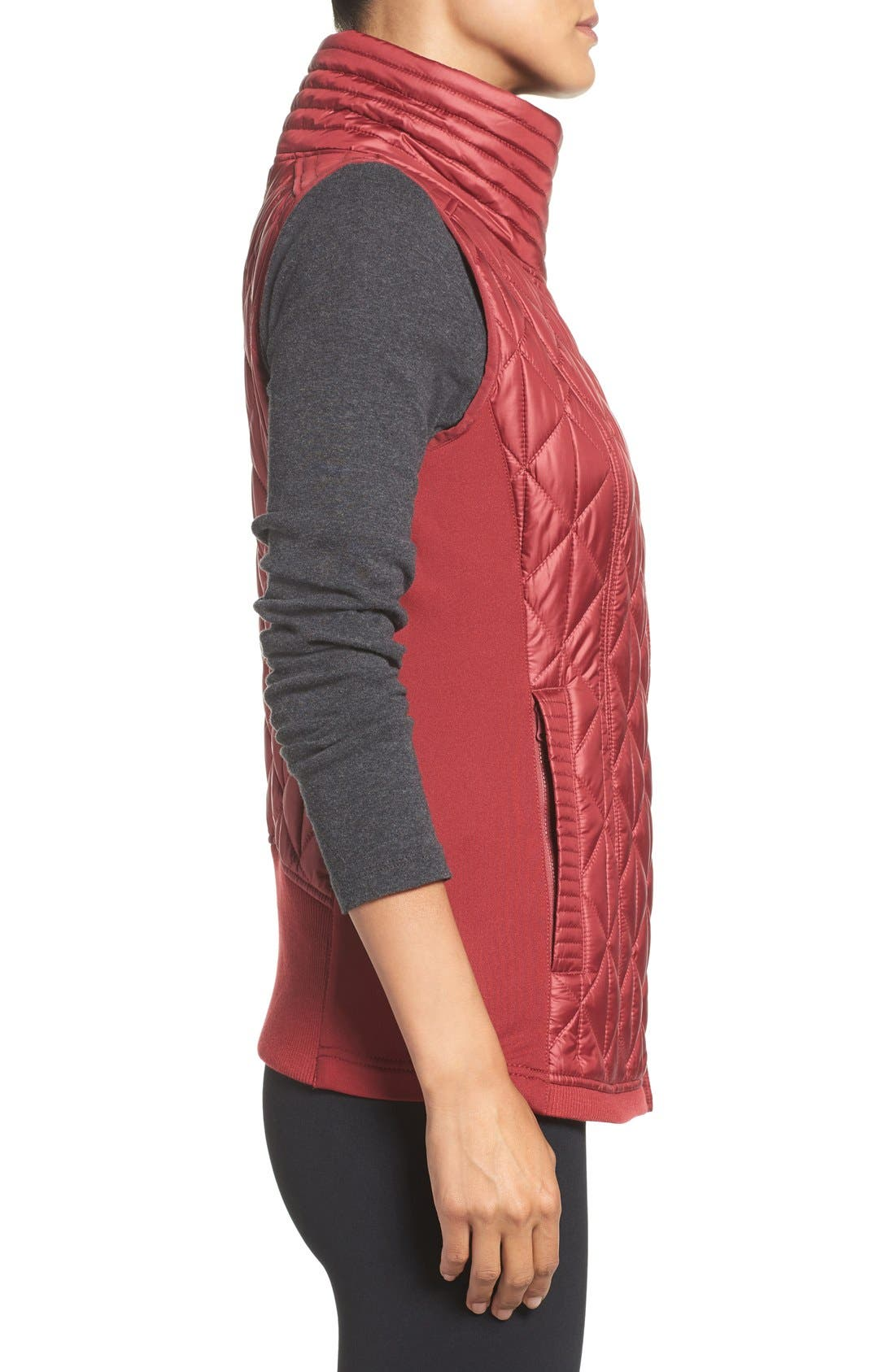 Alternate Image 3  - Zella Brooklyn Quilted Vest