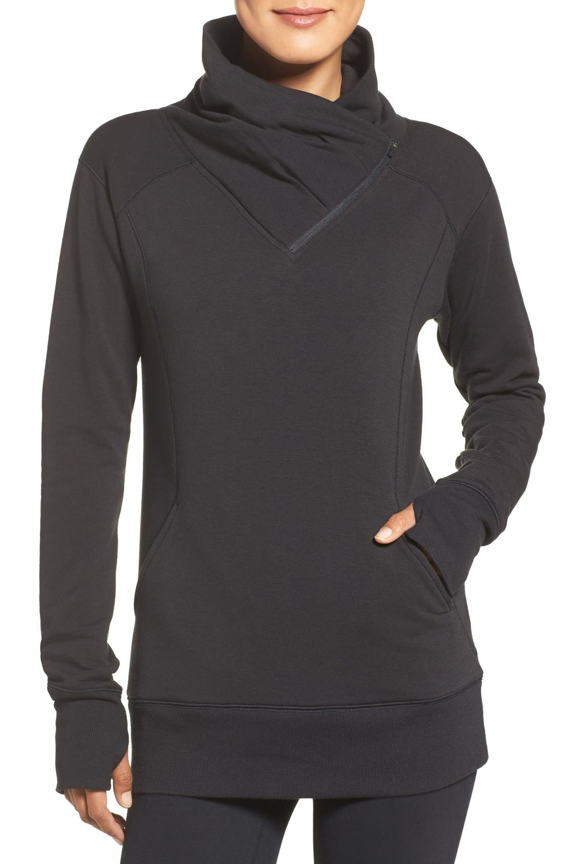 Women's Black Sweatshirts, Hoodies & Fleece | Nordstrom