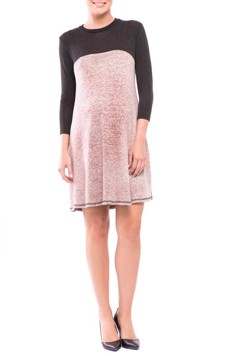 Paola Maternity Sweater Dress