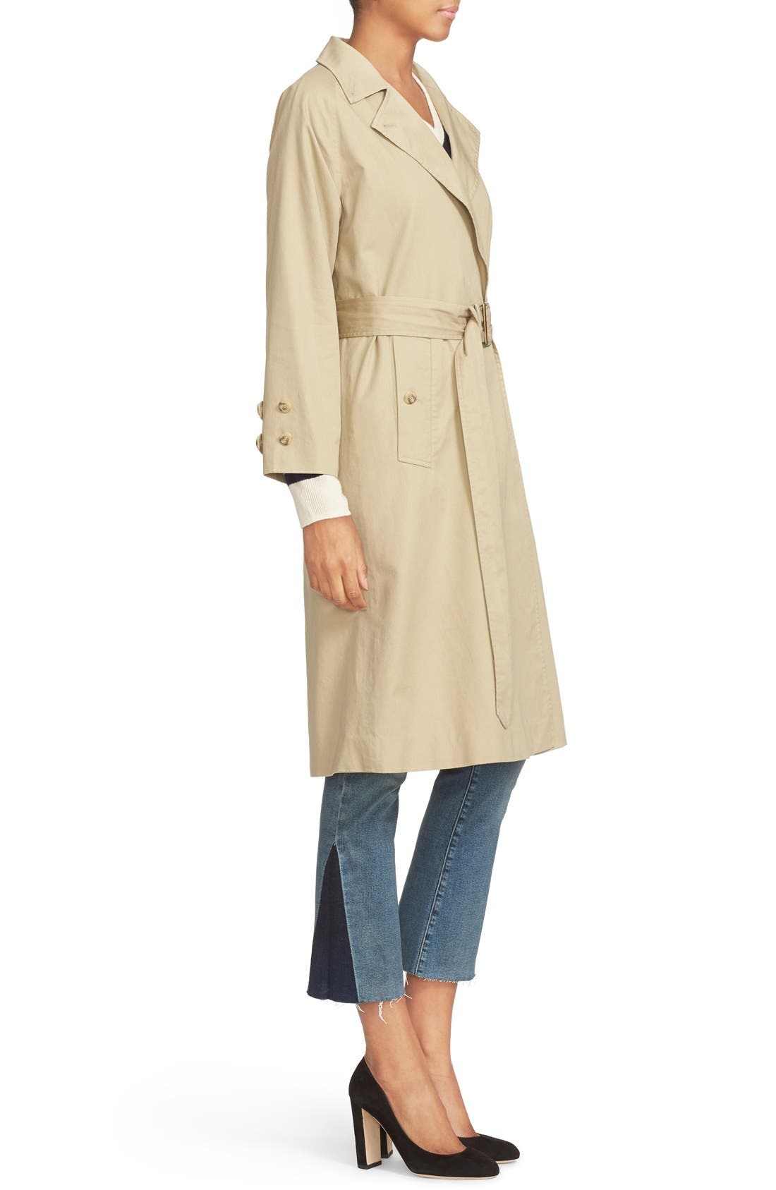 Alternate Image 4  - FRAME Cotton Trench Coat