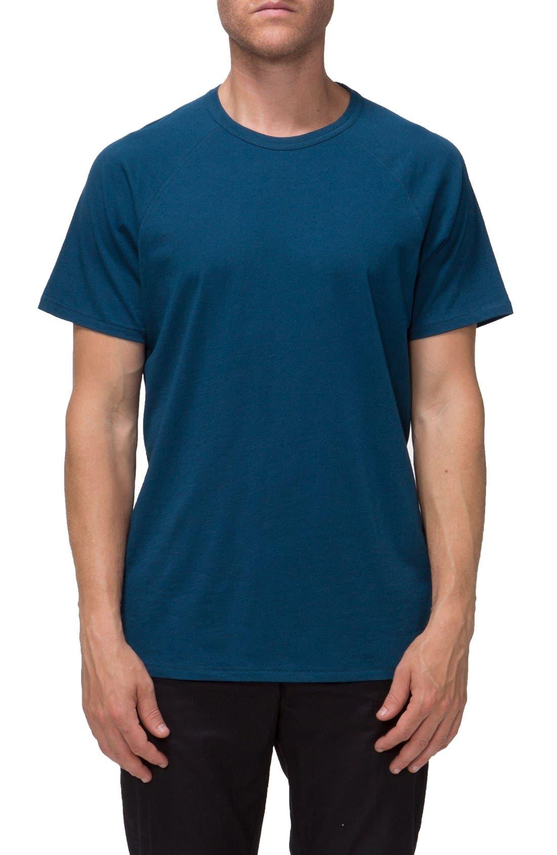 'Covert II' Raglan T-Shirt,                         Main,                         color, Blue