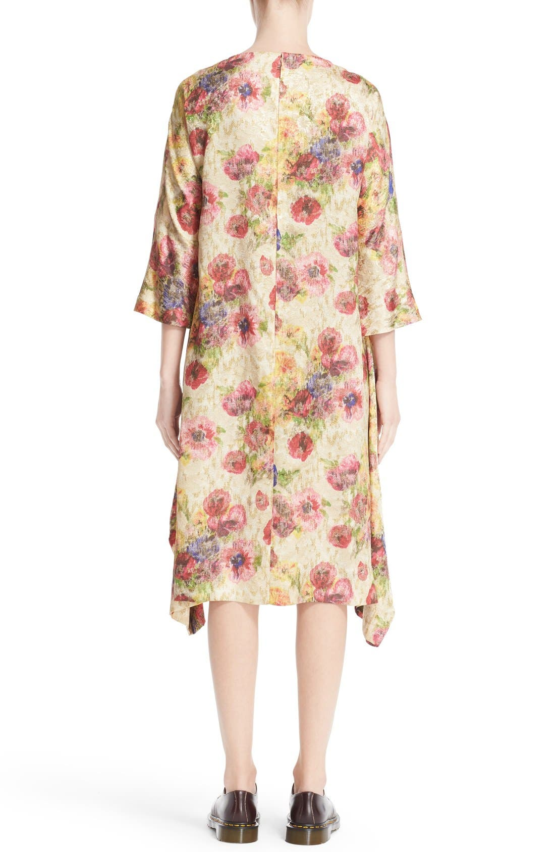 Alternate Image 2  - Comme des Garçons Floral Jacquard Shift Dress