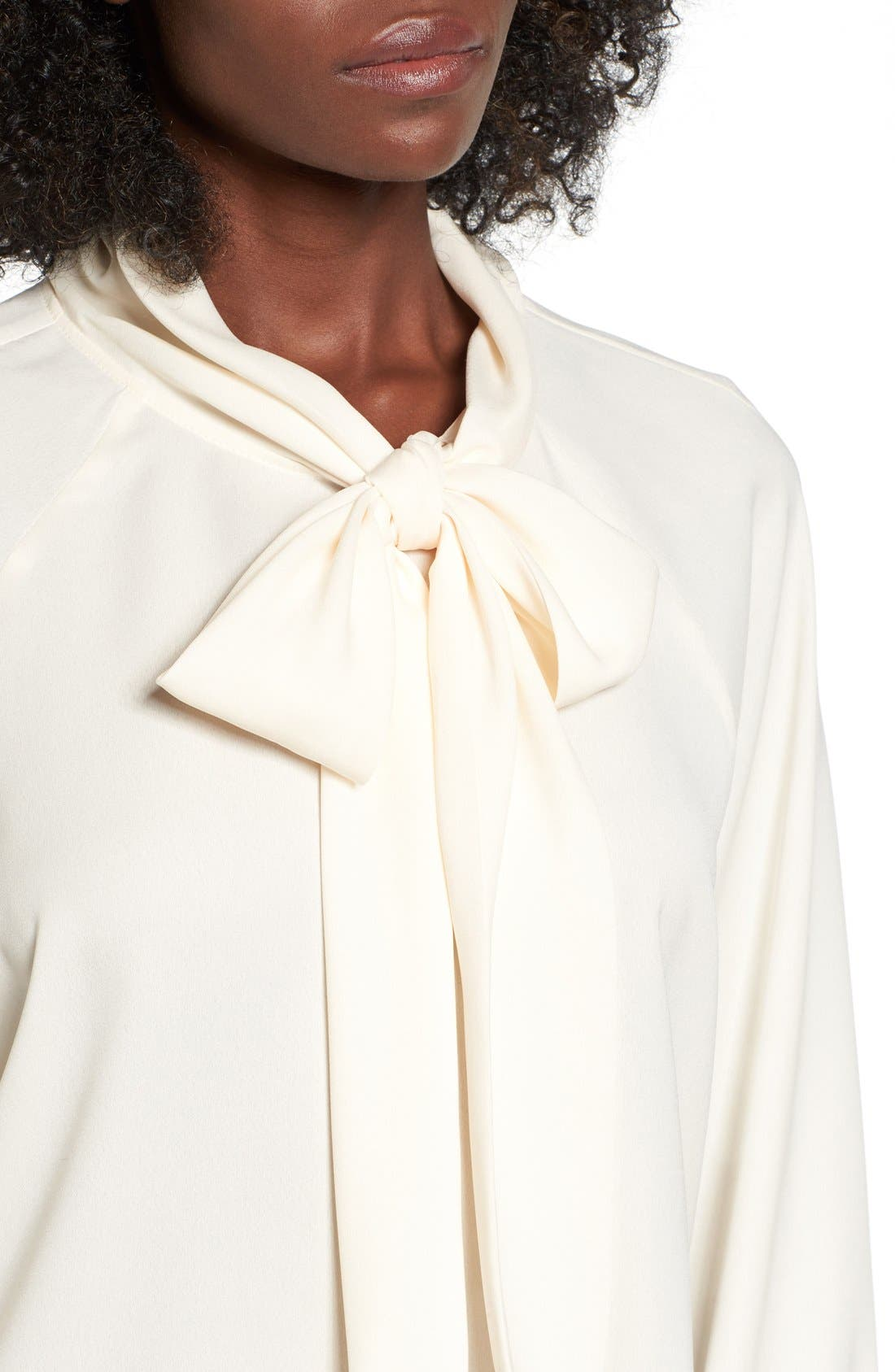 Alternate Image 4  - Leith Tie Neck Blouse
