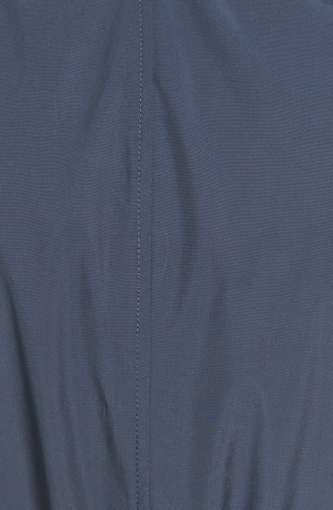 Packable Rain Jacket,                             Alternate thumbnail 5, color,                             Indigo
