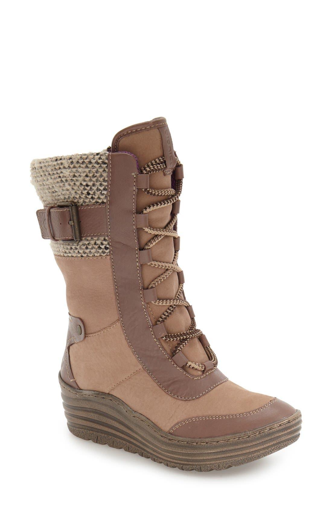 bionica Garland Waterproof Wedge Boot (Women)