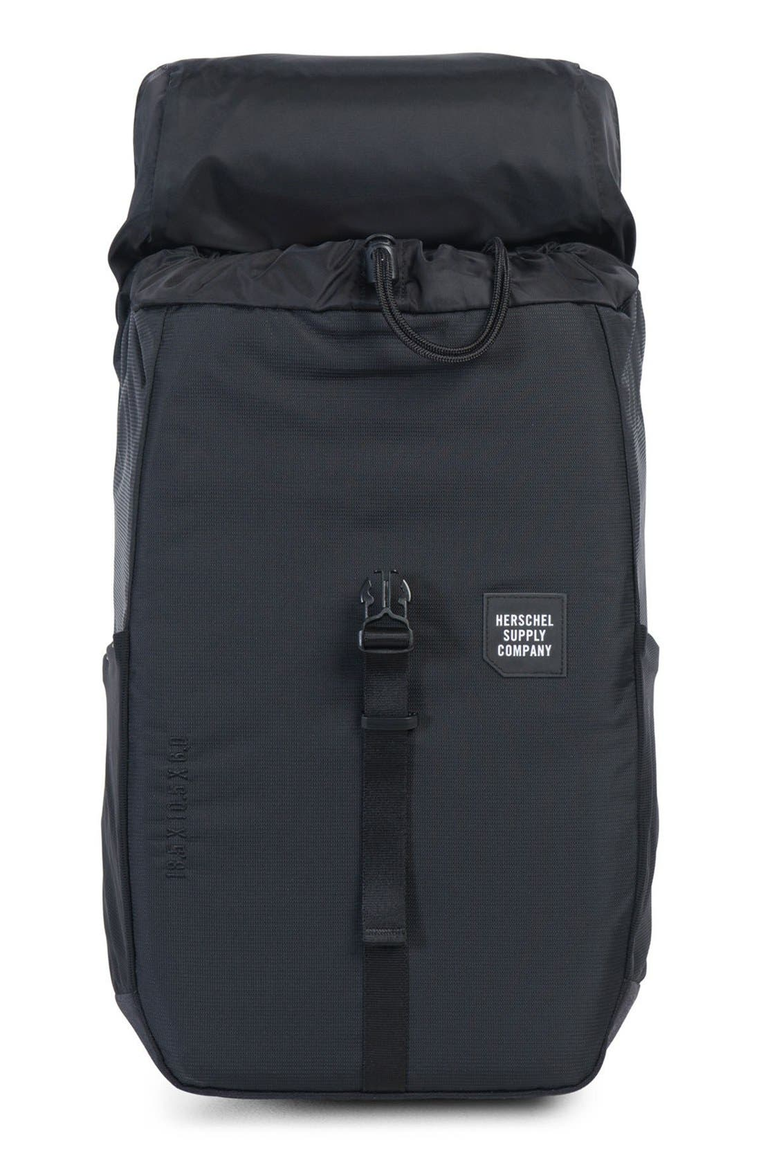 Barlow Medium Trail Backpack,                             Main thumbnail 1, color,                             Black
