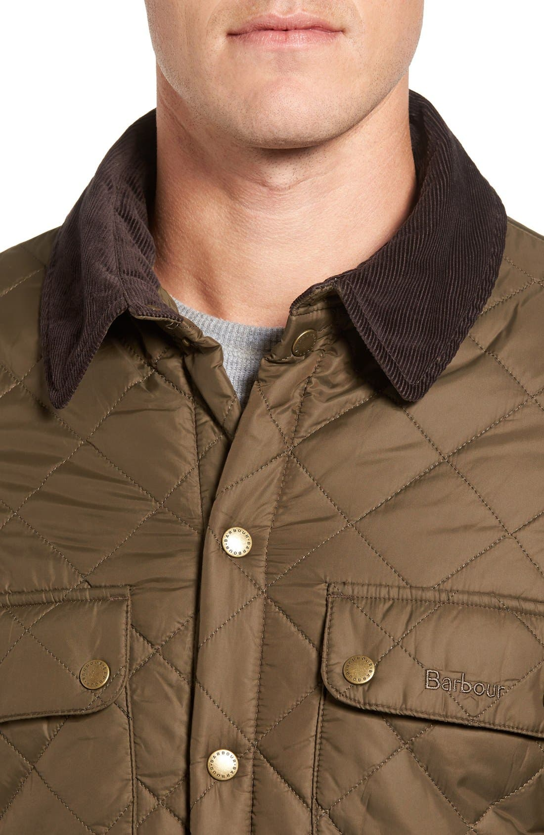 Alternate Image 4  - Barbour 'Akenside' Quilted Jacket