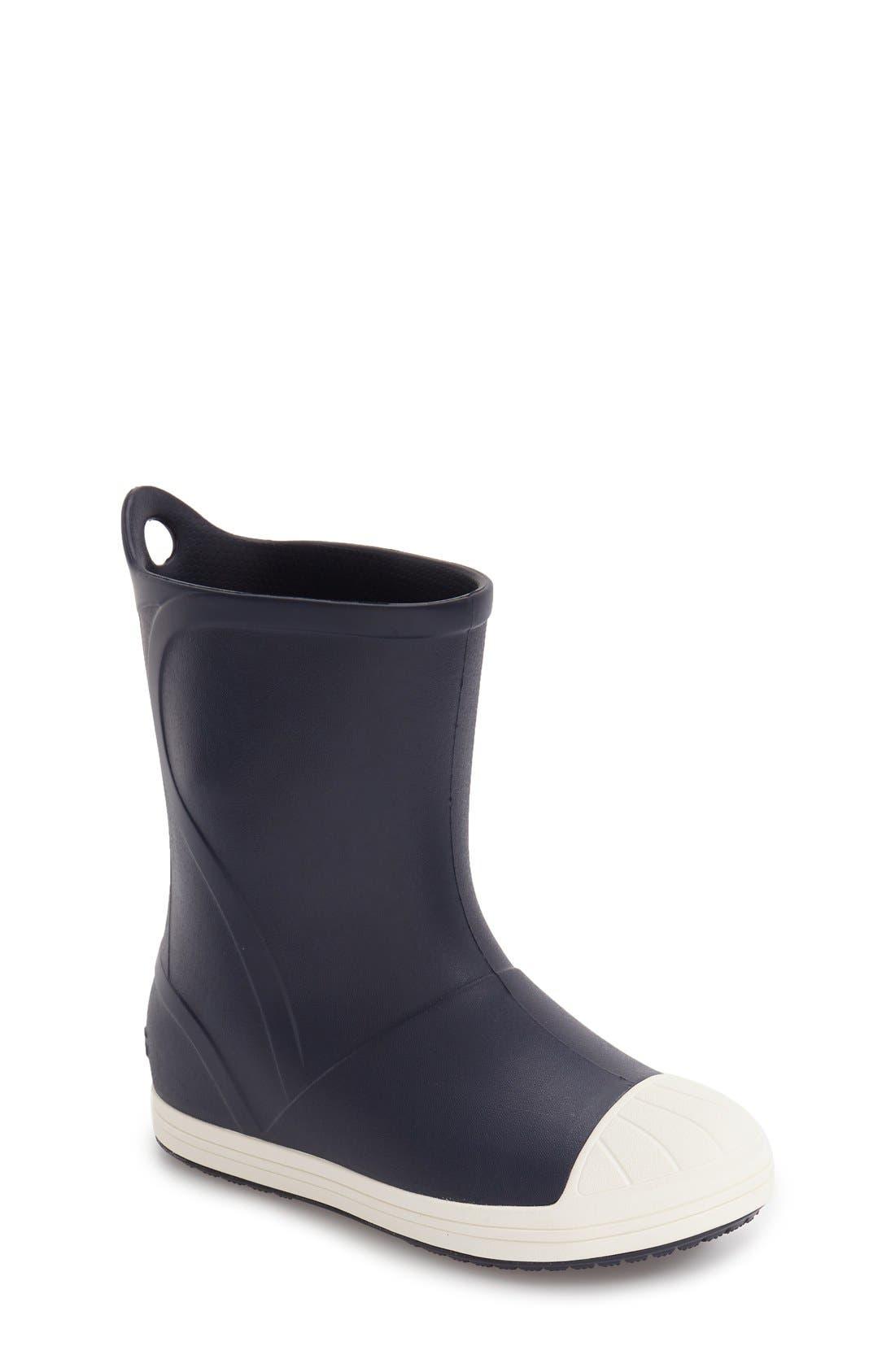 Main Image - CROCS™ Bump It Waterproof Rain Boot (Walker, Toddler & Little Kid)