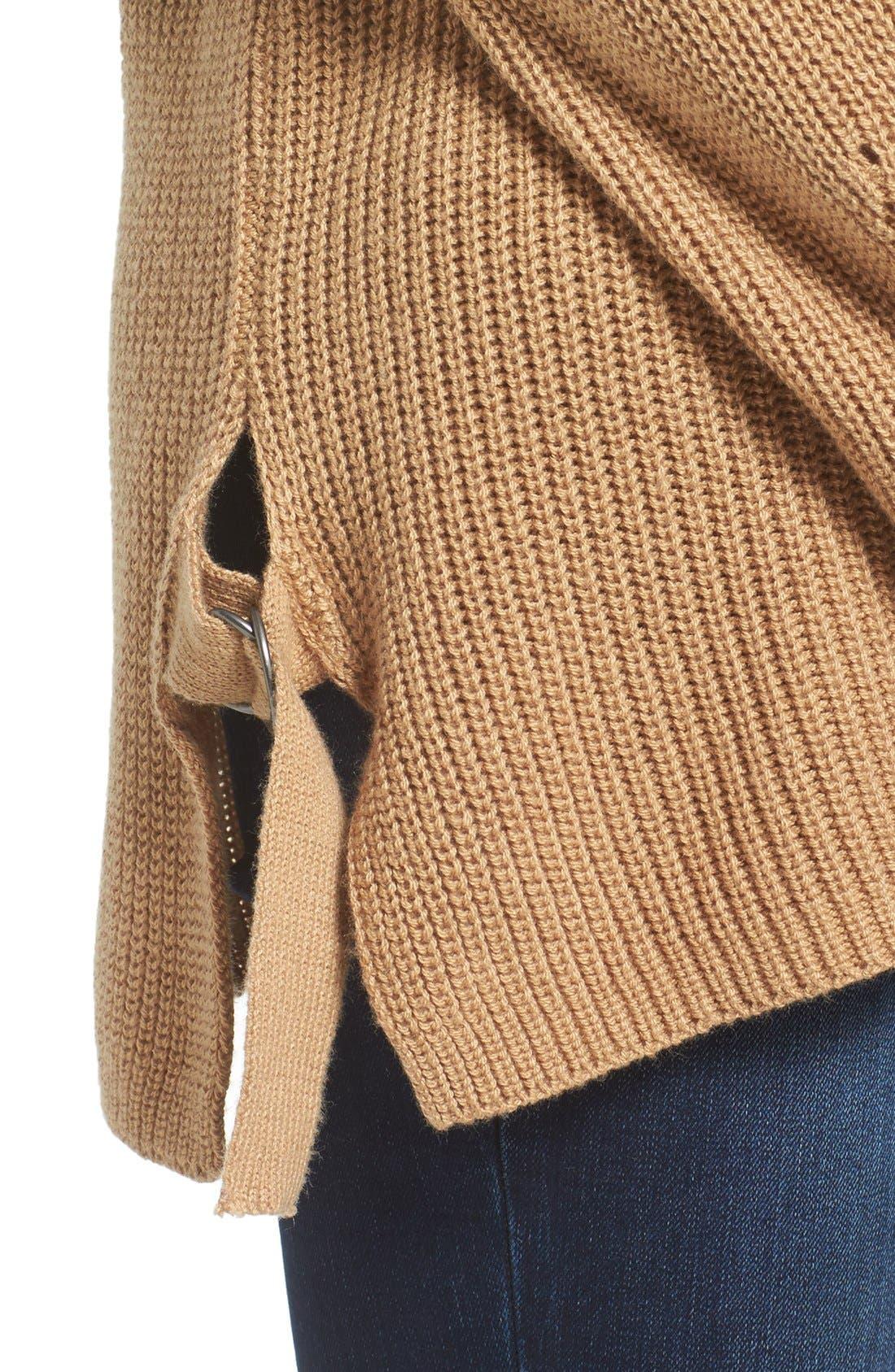 Alternate Image 4  - BP. Side Buckle Knit Pullover