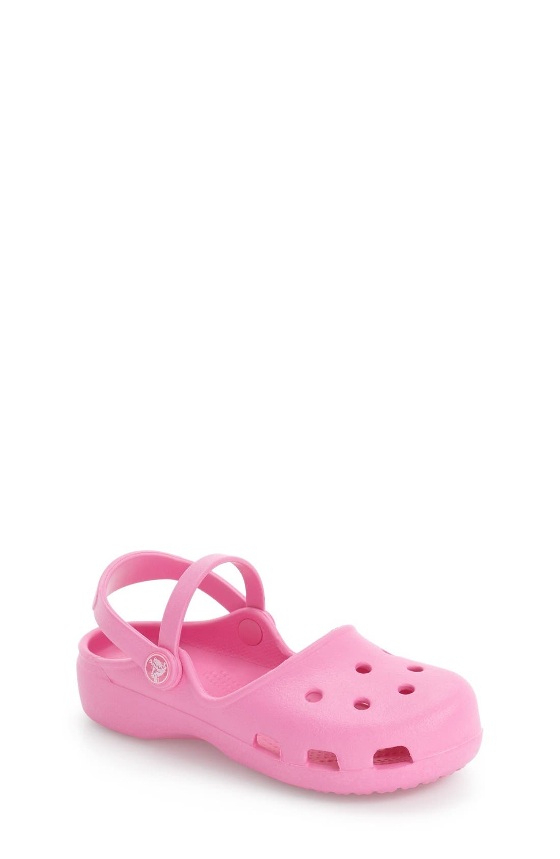 Karin Clogs,                         Main,                         color, Party Pink