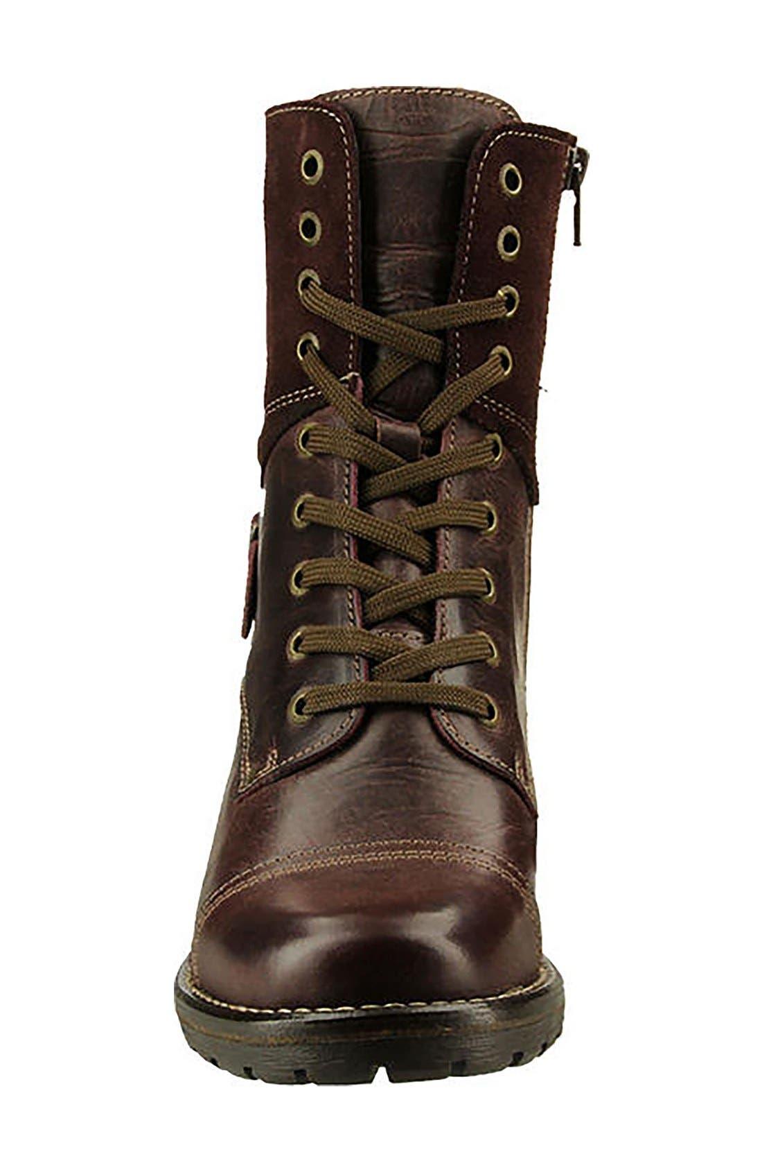 Crave Boot,                             Alternate thumbnail 3, color,                             Bordeaux Leather