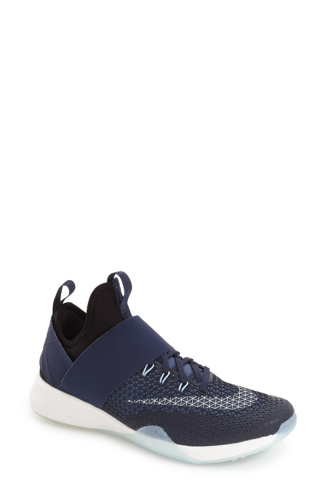 'Air Zoom Strong' Training Shoe,                             Main thumbnail 1, color,                             Obsidian/ White/ Ocean