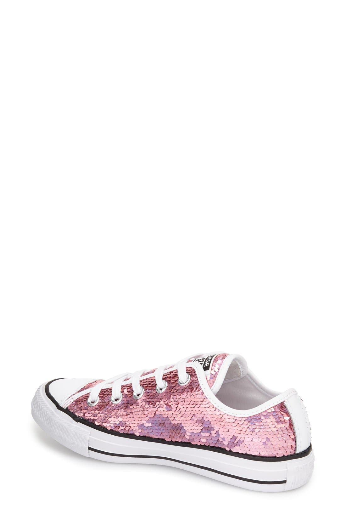 Alternate Image 2  - Converse Chuck Taylor® All Star® 'Holiday Party' Low Top Sequined Sneaker (Women)