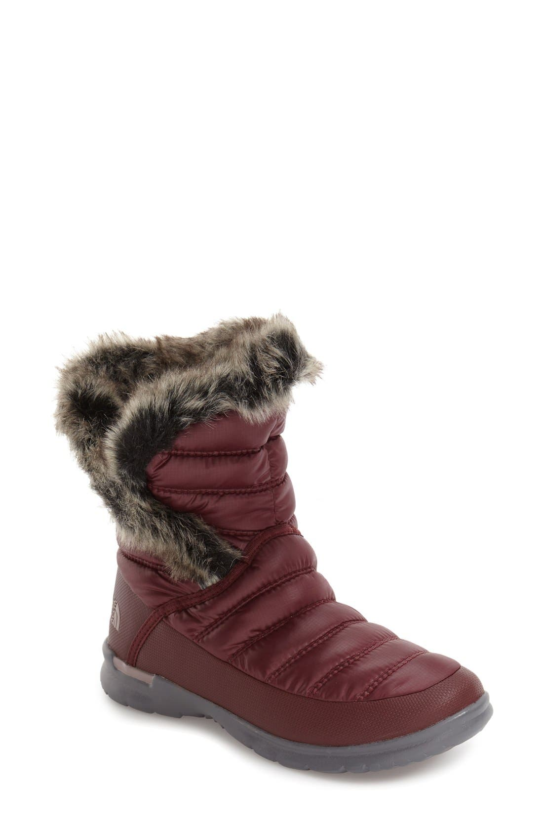 Main Image - The North Face Microbaffle Waterproof ThermoBall® Insulated Winter Boot (Women)