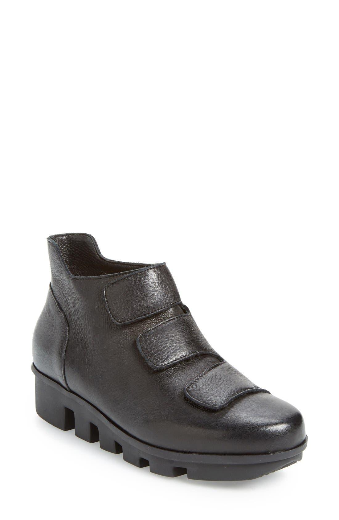 'Harmonee' Sneaker,                         Main,                         color, Black Leather