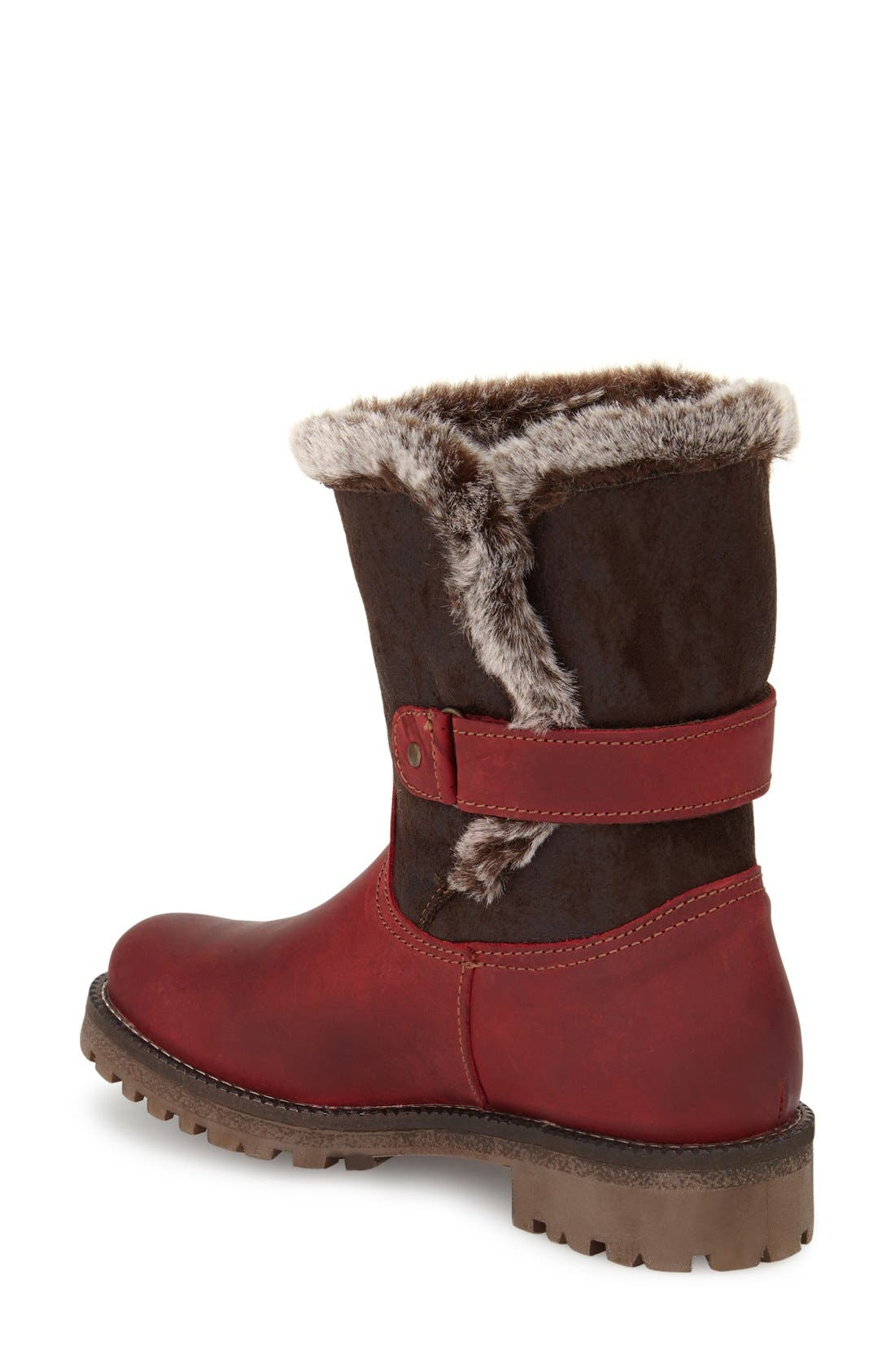 Alternate Image 2  - Bos. & Co. Candy Waterproof Boot with Faux Fur Trim (Women)