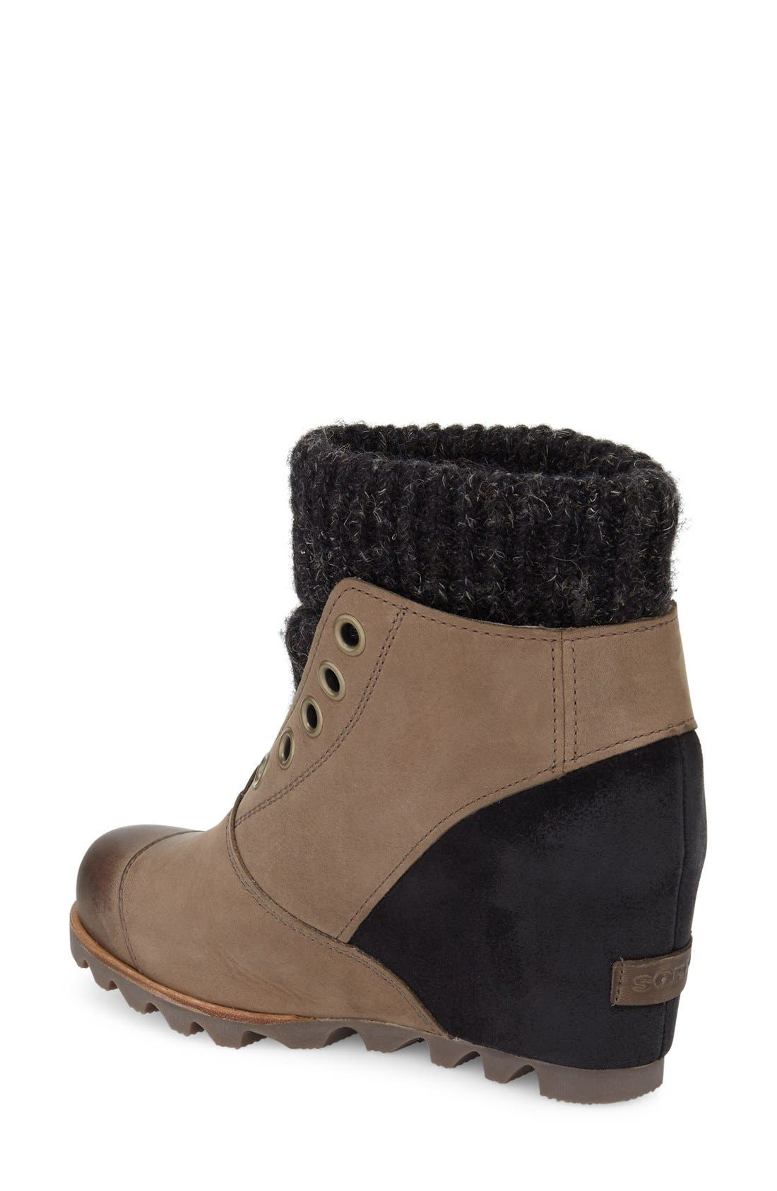 Alternate Image 2  - SOREL Joanie Waterproof Wedge Bootie (Women)