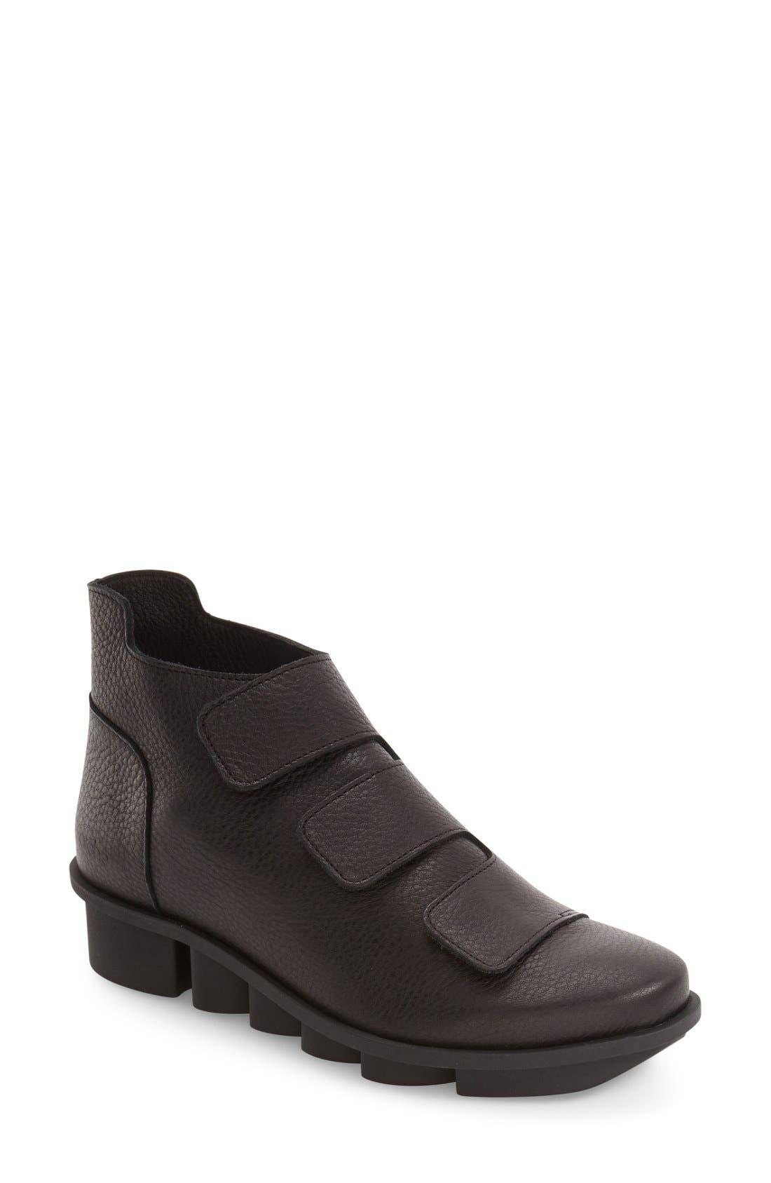 'Skapa' Sneaker,                             Main thumbnail 1, color,                             Noir Leather