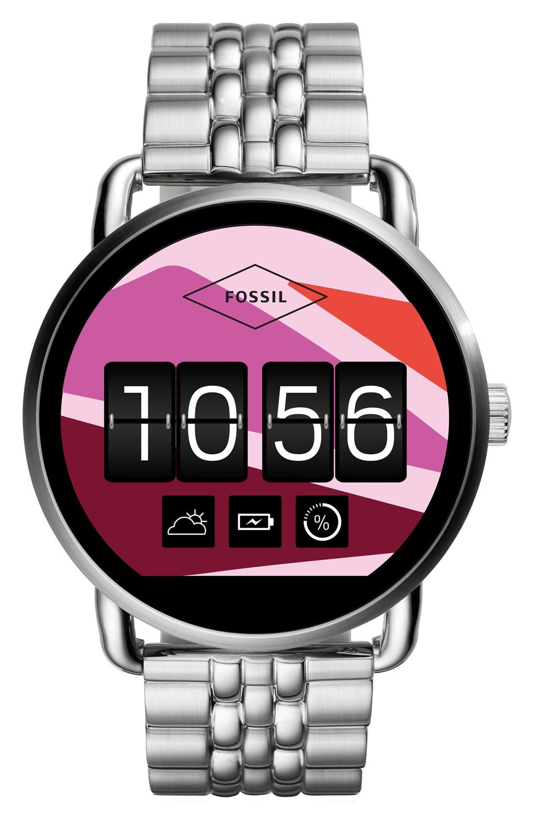 Alternate Image 5  - Fossil Q Wander Digital Smart Bracelet Watch, 45mm