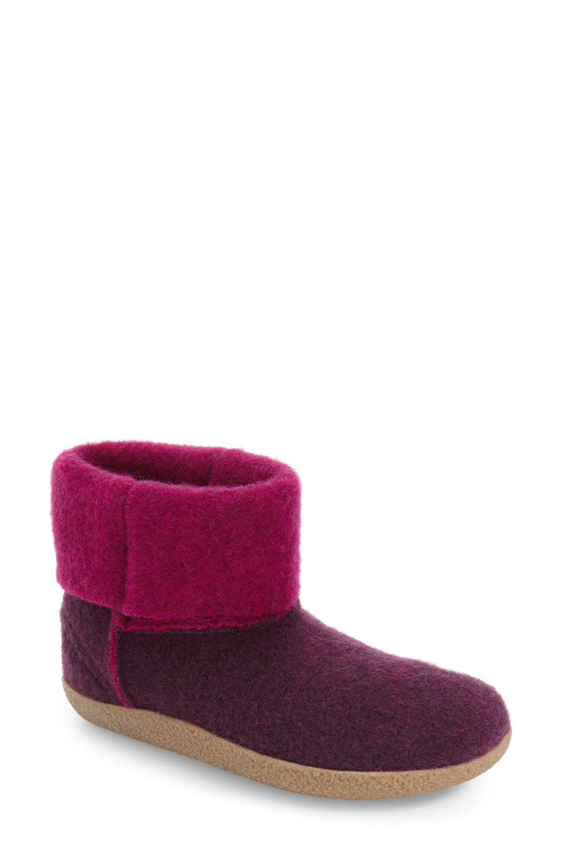 Giesswein Bigelow Cuffed Water Repellent Slipper (Women)