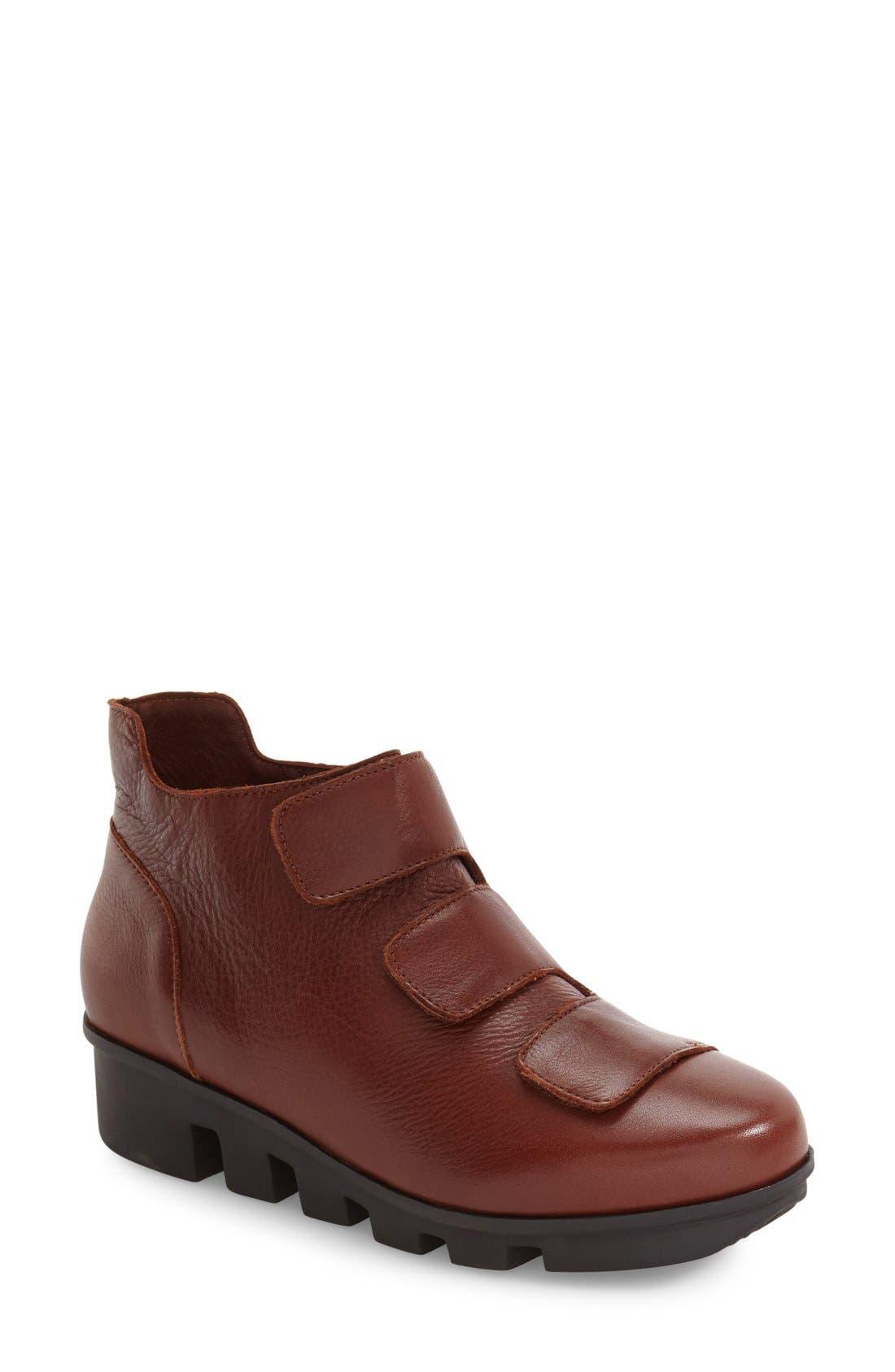 'Harmonee' Sneaker,                         Main,                         color, Brandy Leather