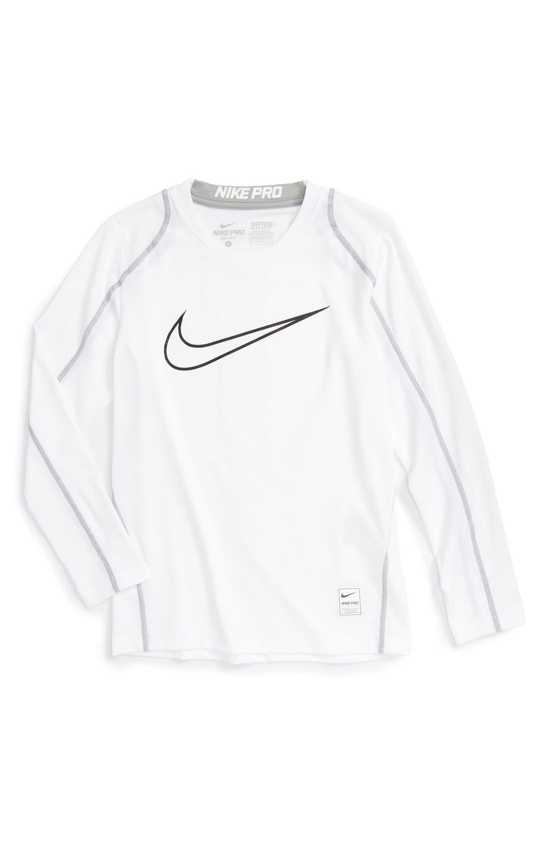 Alternate Image 1 Selected - Nike Cool Dri-FIT T-Shirt (Little Boys & Big Boys)