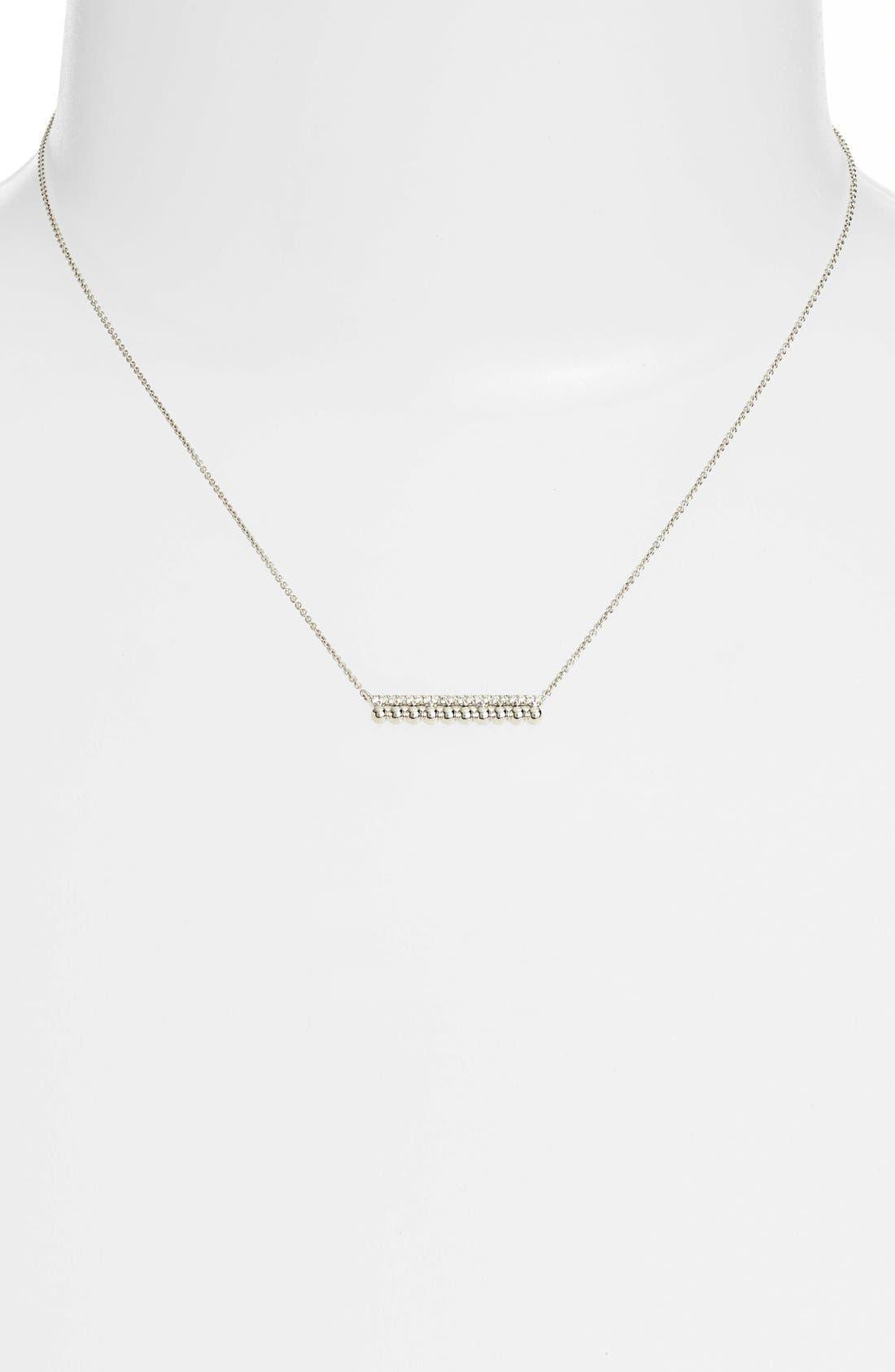 Alternate Image 2  - Dana Rebecca Designs 'Poppy Rae' Bar Pendant Necklace