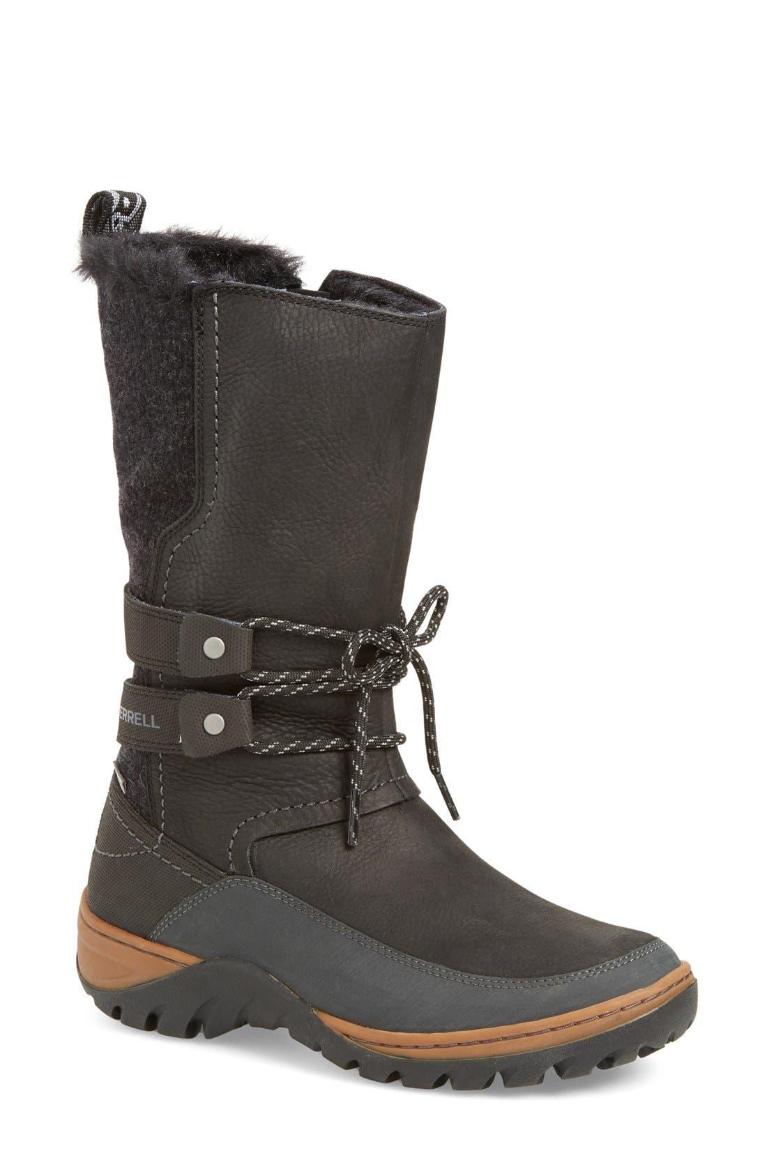 Main Image - Merrell Sylva Waterproof Tall Boot (Women)