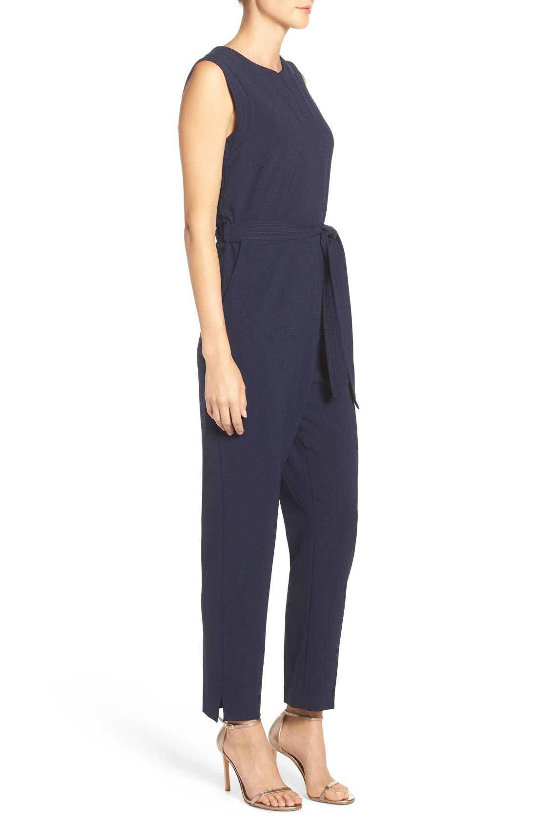 Alternate Image 4  - Vince Camuto Jumpsuit (Regular & Petite)
