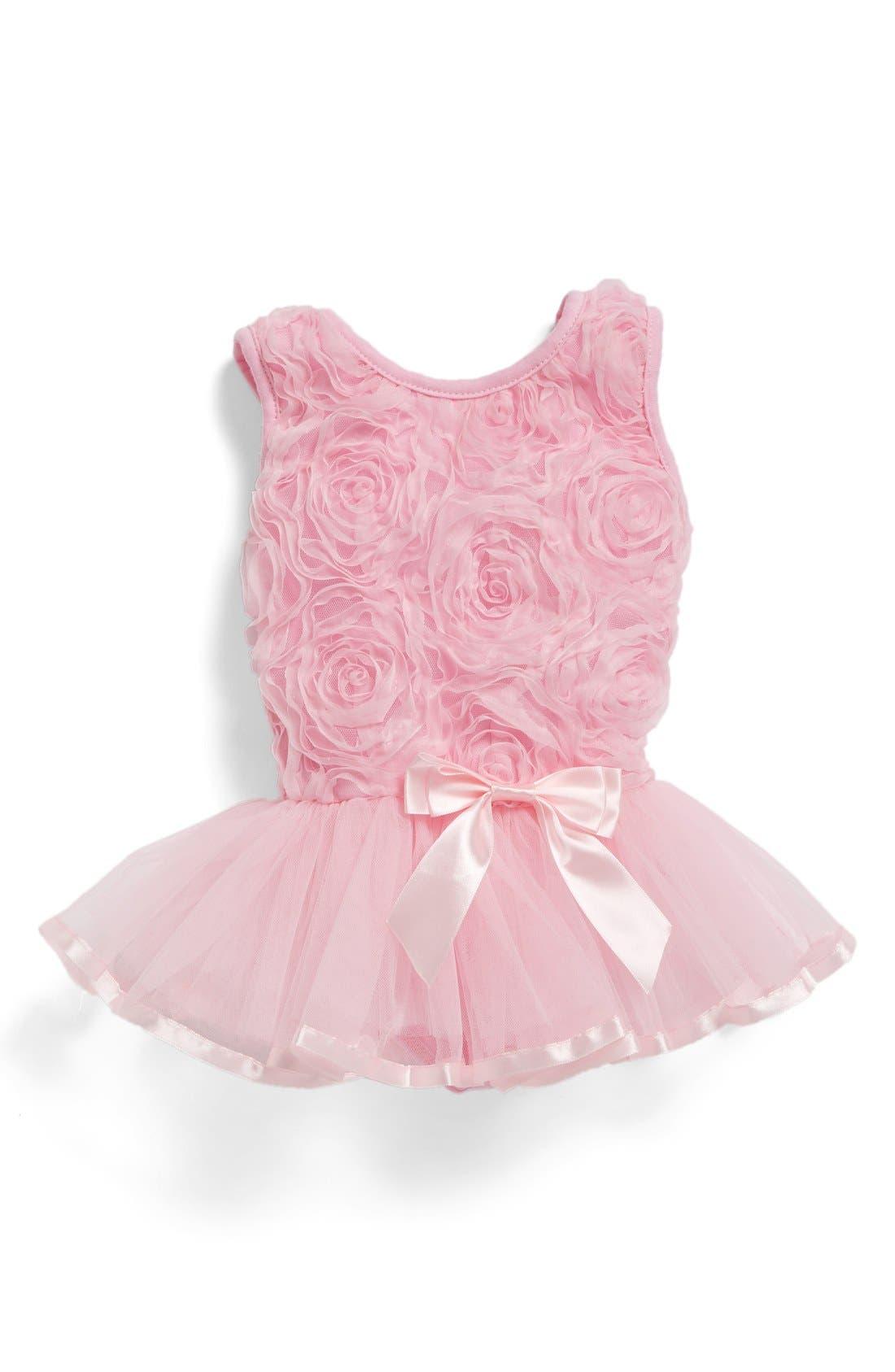 Tutu Dance Dress,                         Main,                         color, Pink