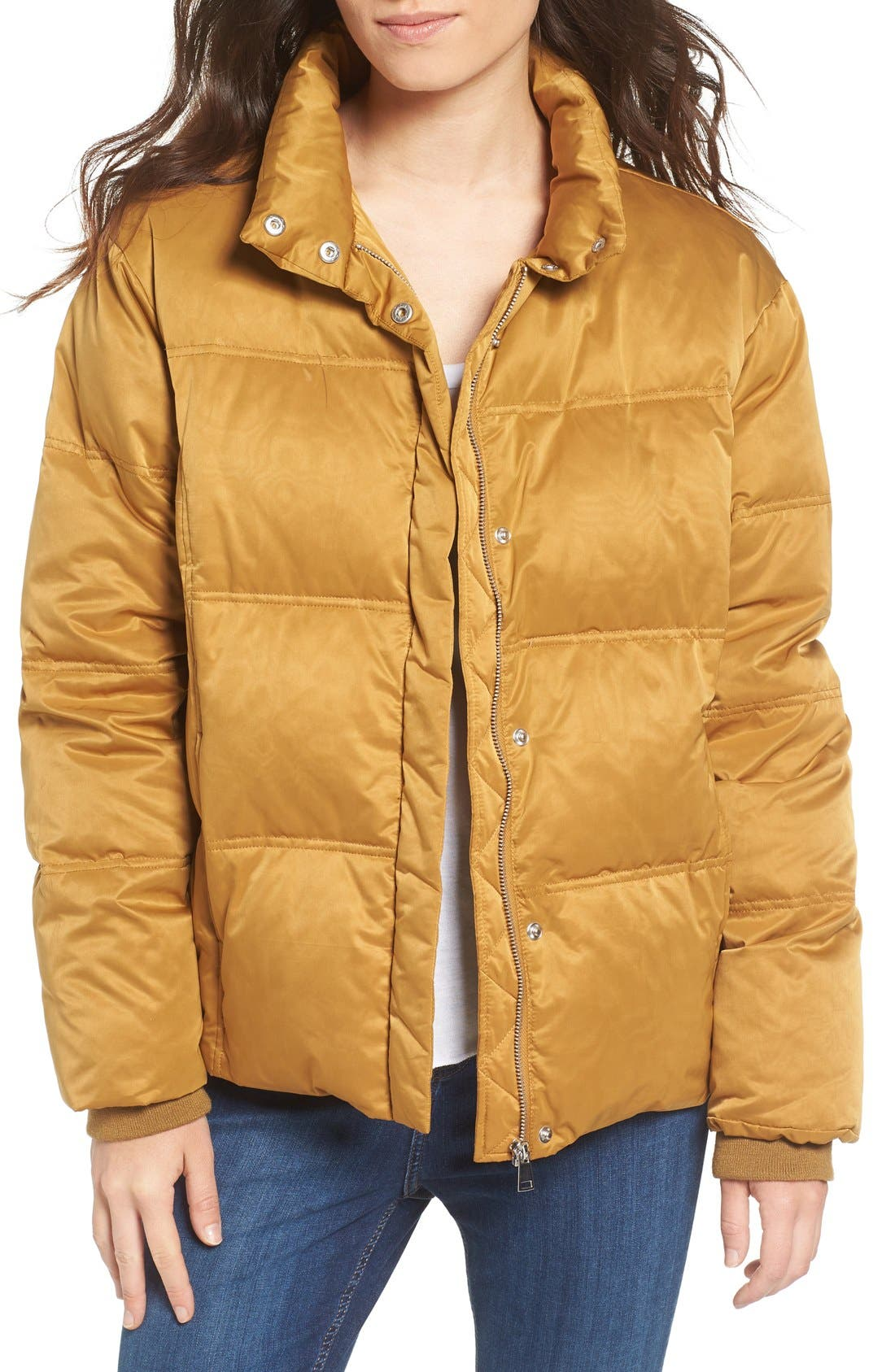 Alternate Image 1 Selected - Topshop Emily Puffer Jacket