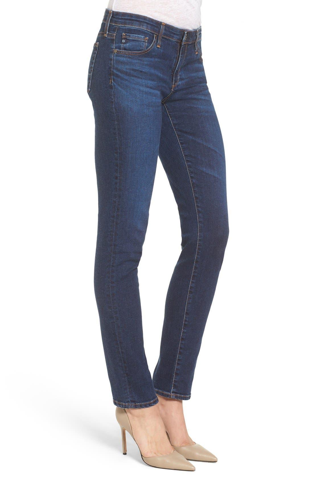 The Stilt Cigarette Leg Jeans,                             Alternate thumbnail 3, color,                             Workroom