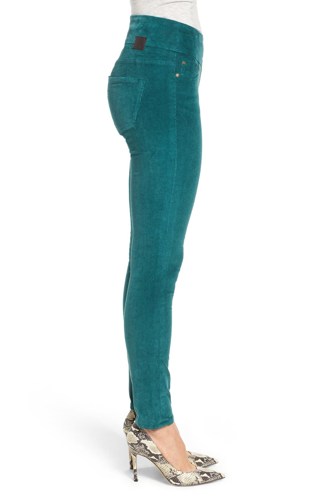 Alternate Image 3  - Jag Jeans Nora Pull-On Stretch Skinny Corduroy Pants (Regular & Petite)